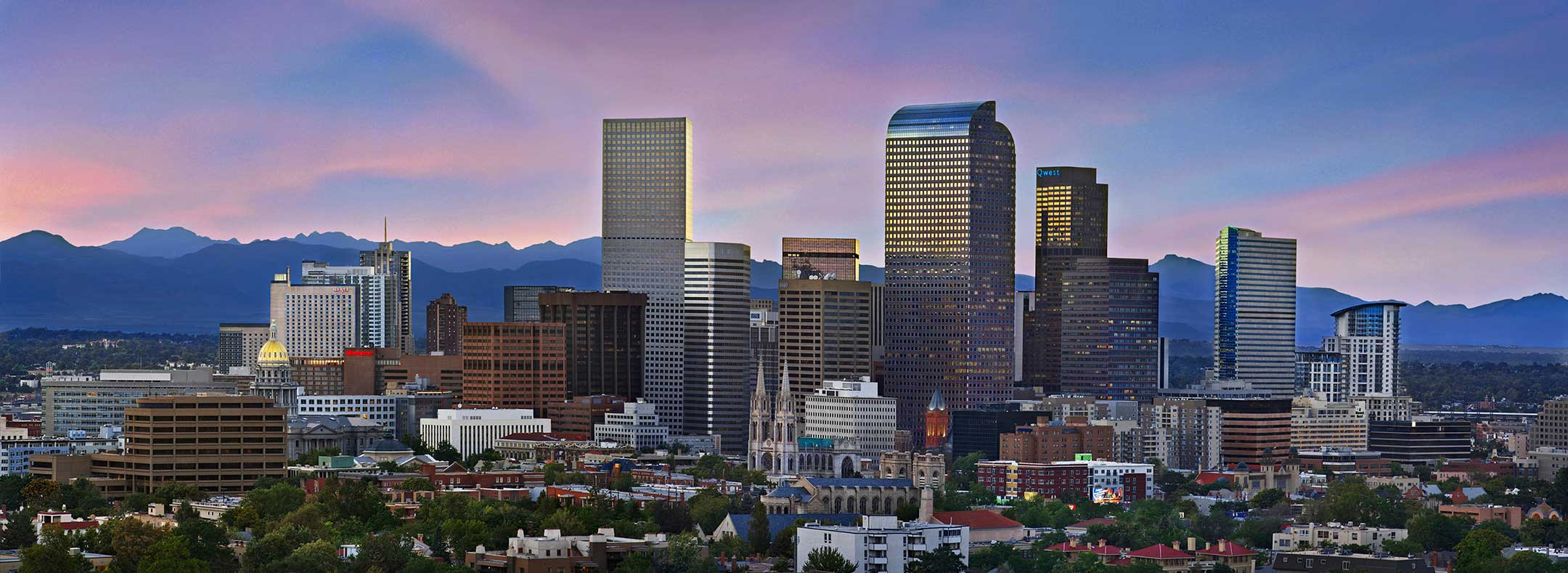 Denver skyline background img 2
